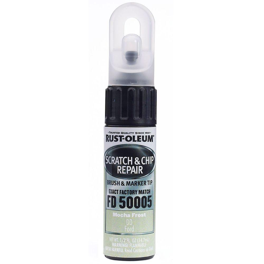Rust-Oleum Automotive 0.5 oz. Mocha Frost Scratch and Chip Repair Marker