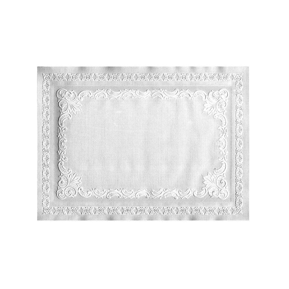 Hoffmaster 10 in. x 14 in. Placemats, White, 1000 Per Case