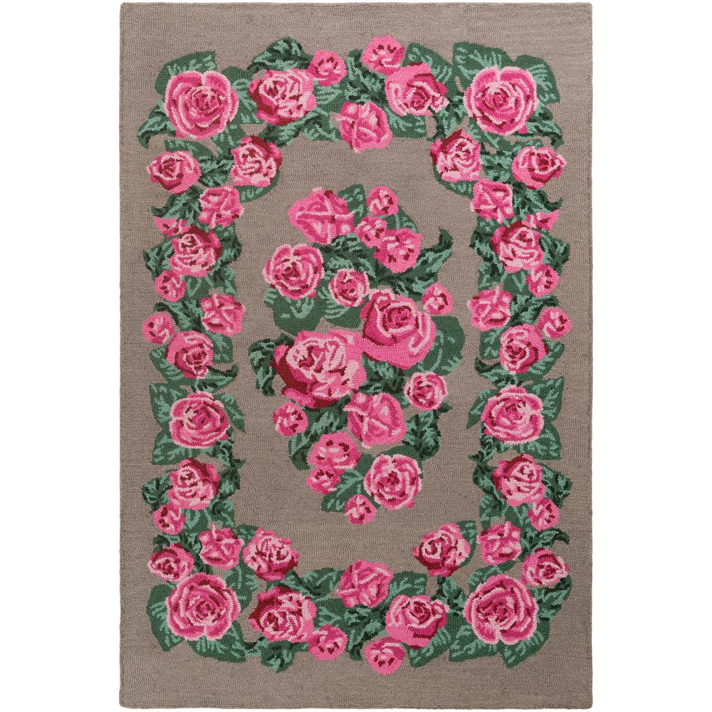 Botany Gianna Raspberry 8 ft. x 10 ft. Indoor Area Rug