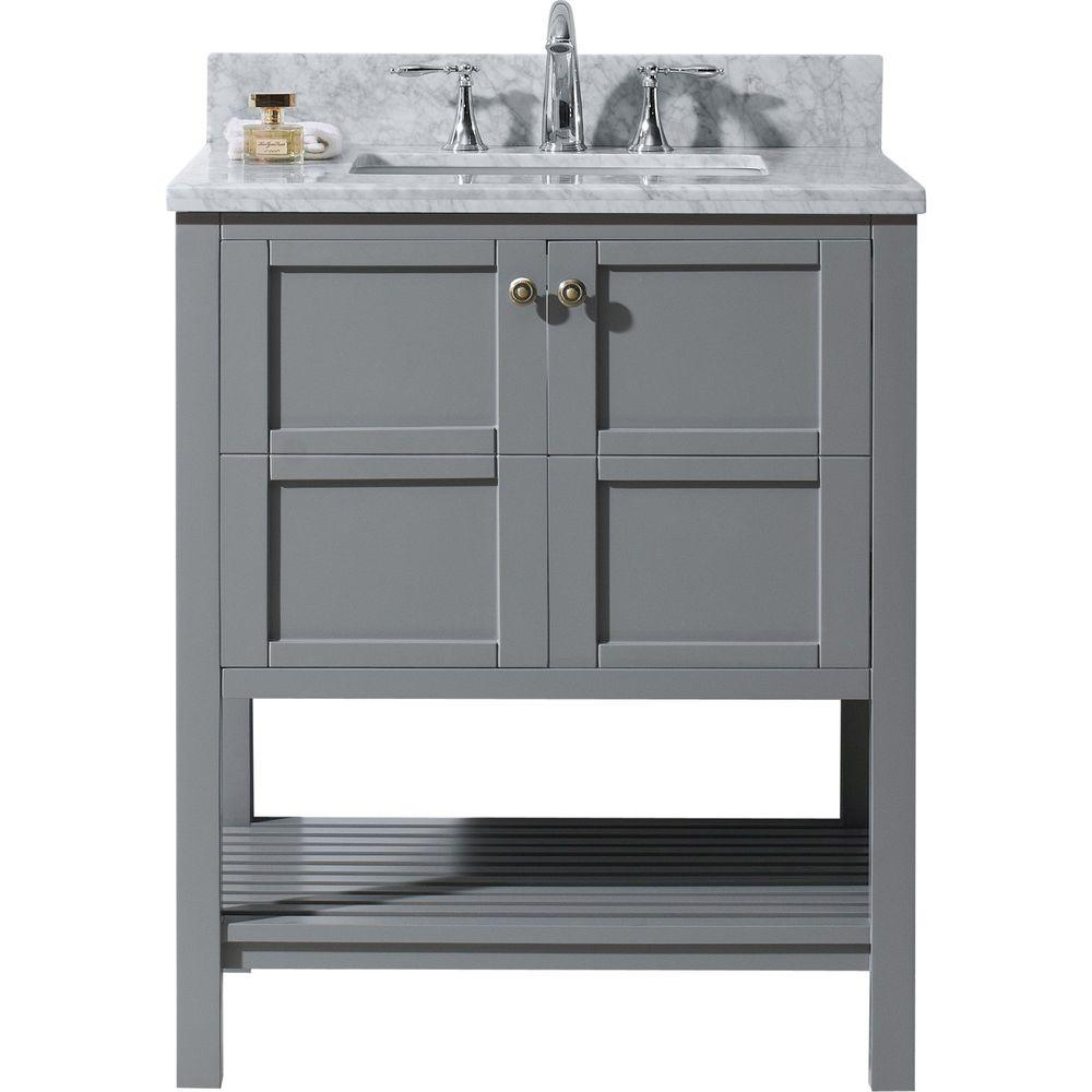 Virtu USA Winterfell 30 in. W x 22 in. D Vanity