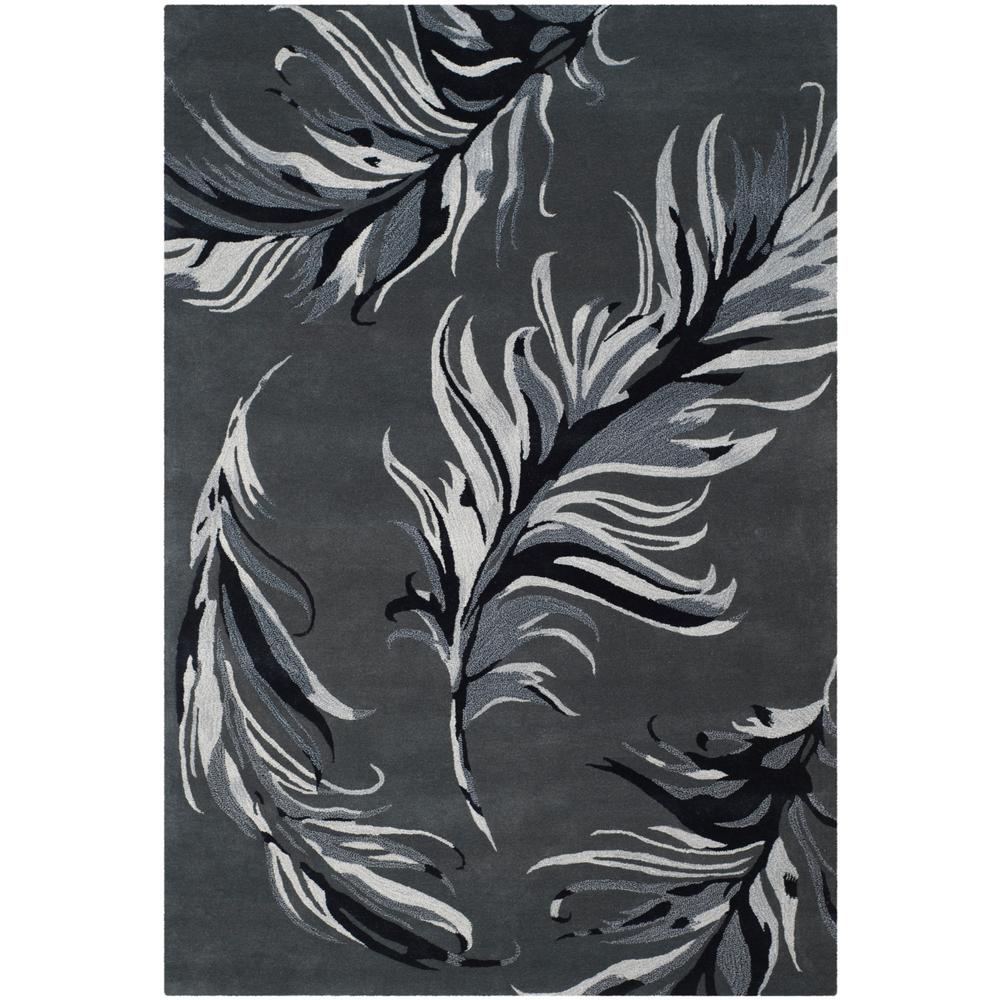 Allure Gray 5 ft. x 8 ft. Area Rug