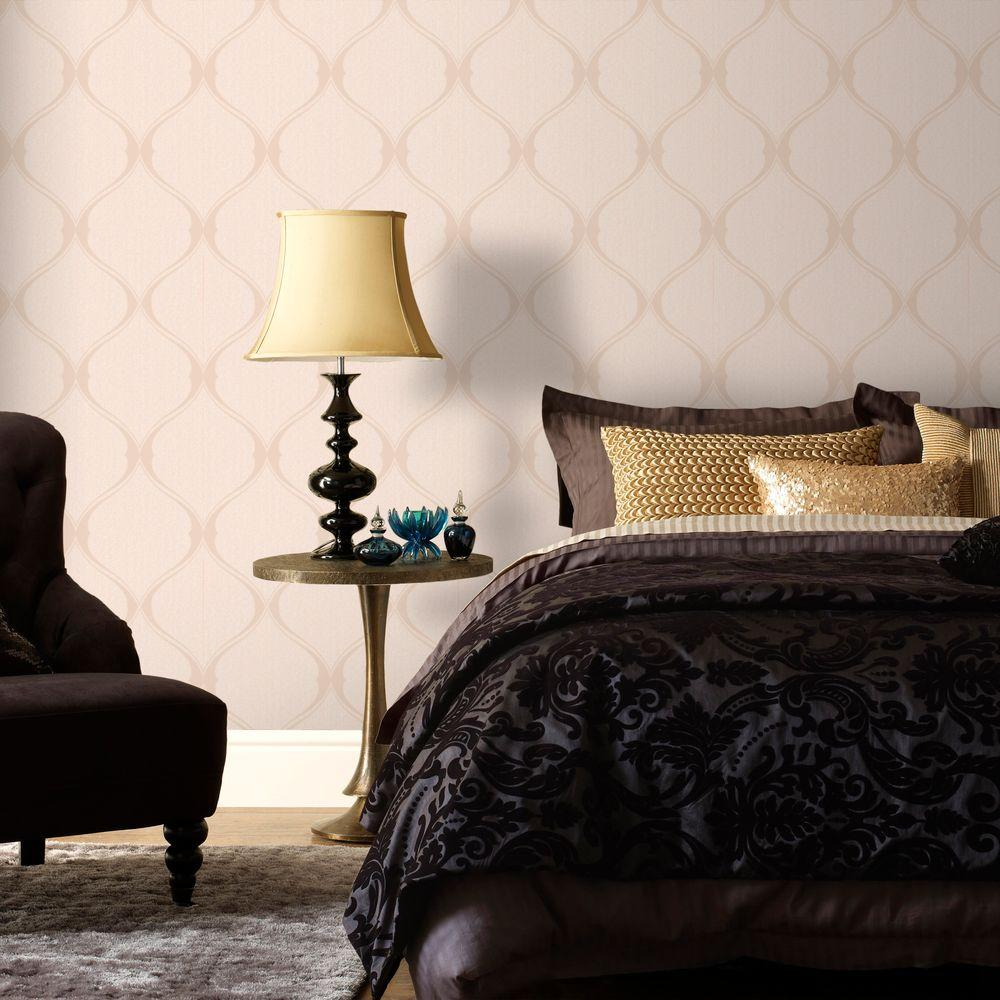 Graham & Brown 56 sq. ft. Gold Olympus Wallpaper-20-736 - The