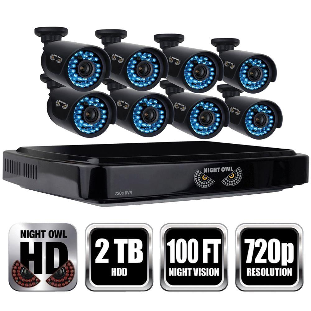 Night Owl 16-Channel 1080p Smart HD Video Security System with 2TB