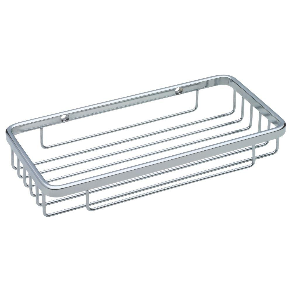 Franklin Brass Wire Soap Dish in Bright Stainless Steel-B9789 - The