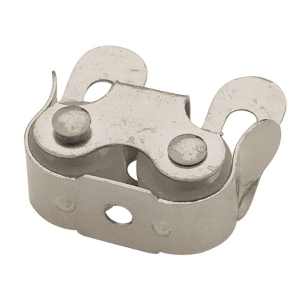 Liberty 1 in. Nickel Plated Double Roller Catch