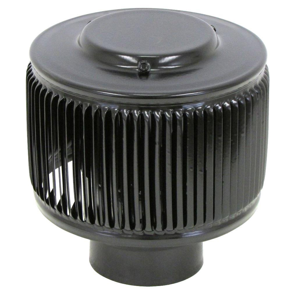 Aura PVC Vent Cap 3 in. Dia Exhaust Vent with Adapter