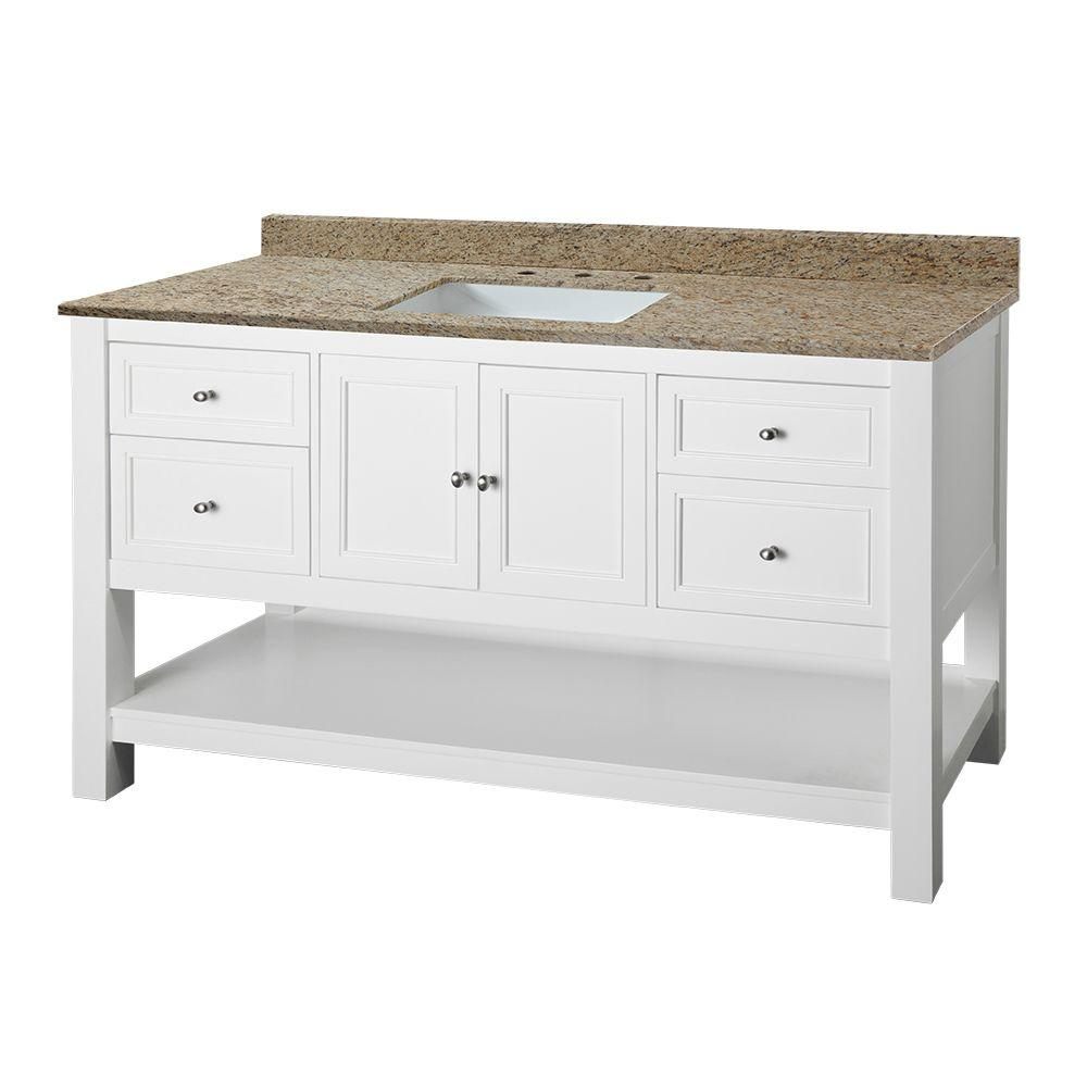 Home decorators collection gazette 61 in w x 22 in d for Home decorators vanity top