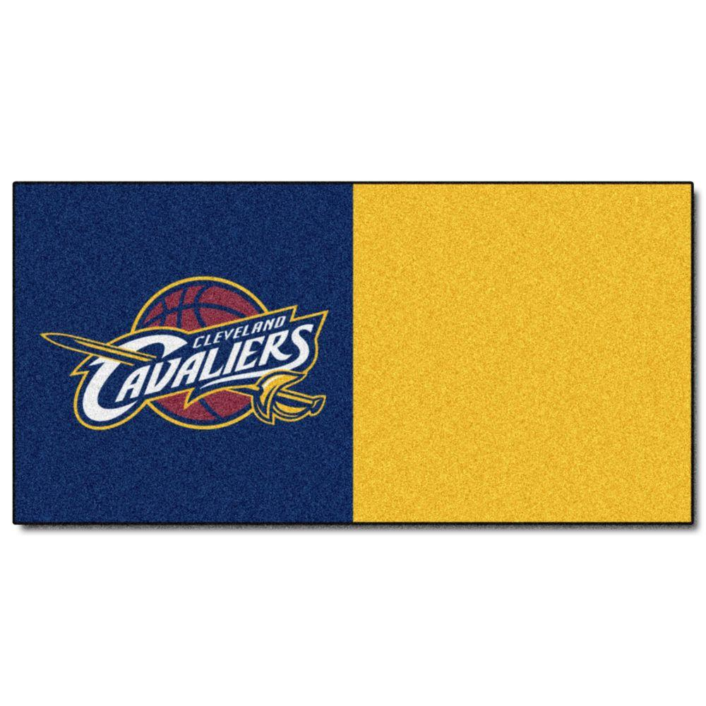 FANMATS NBA - Cleveland Cavaliers Blue and Yellow Pattern 18 in.