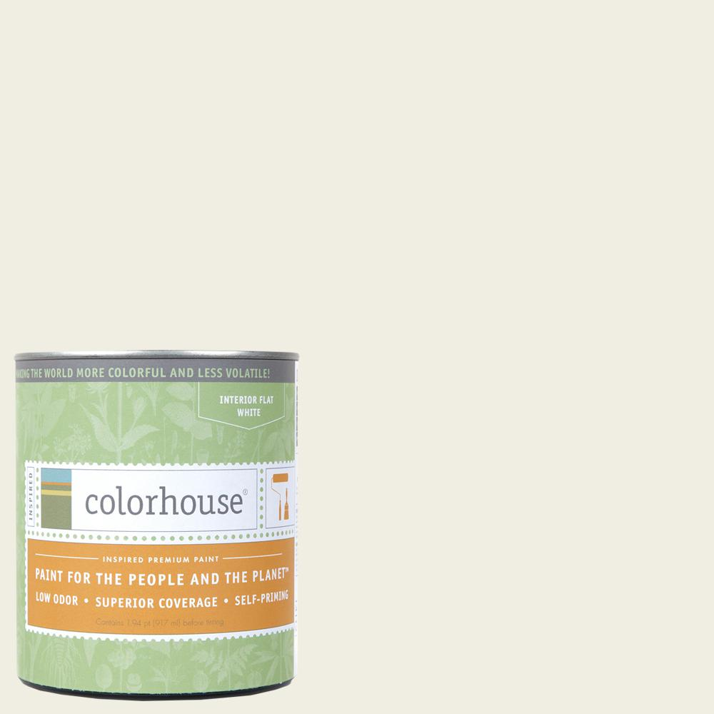 1 qt. Bisque .02 Flat Interior Paint
