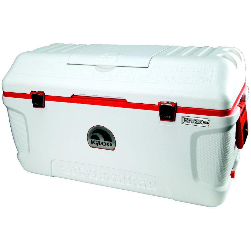 IGLOO Supertough STX 165 Qt. Cooler with Built-In Cup Holder and