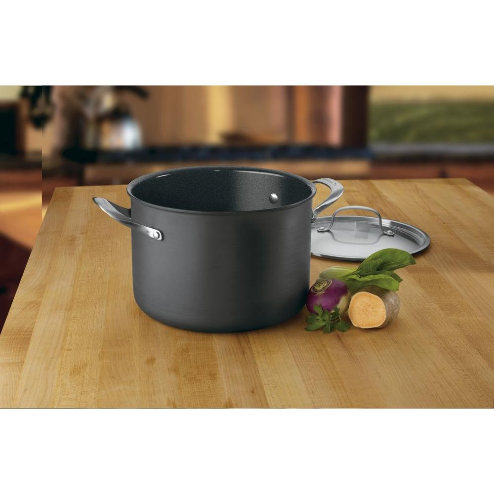 Cuisinart GreenGourmet 8 Qt. Hard Anodized Stockpot with Cover