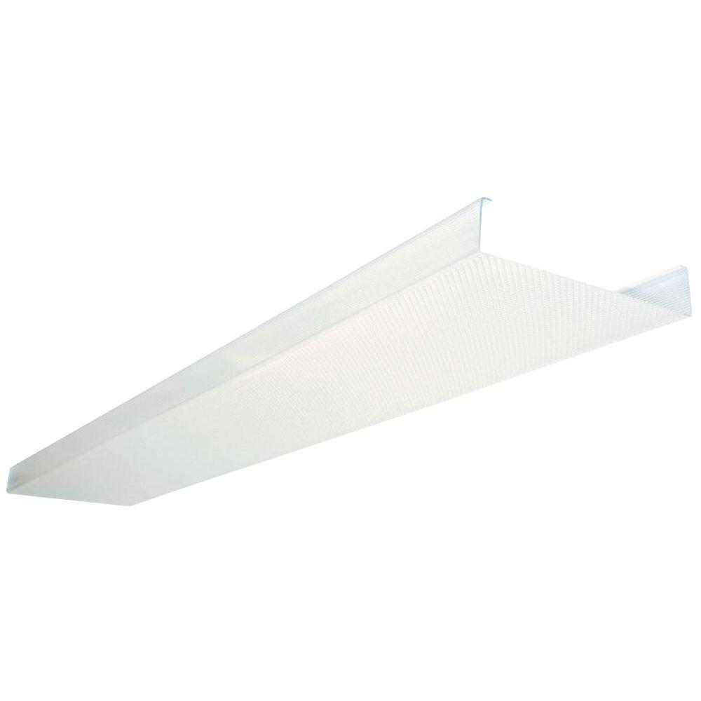 Kitchen Fluorescent Light Fixture Covers Lithonia Lighting 4 Ft Replacement Lens Dsb48 M4 The Home Depot