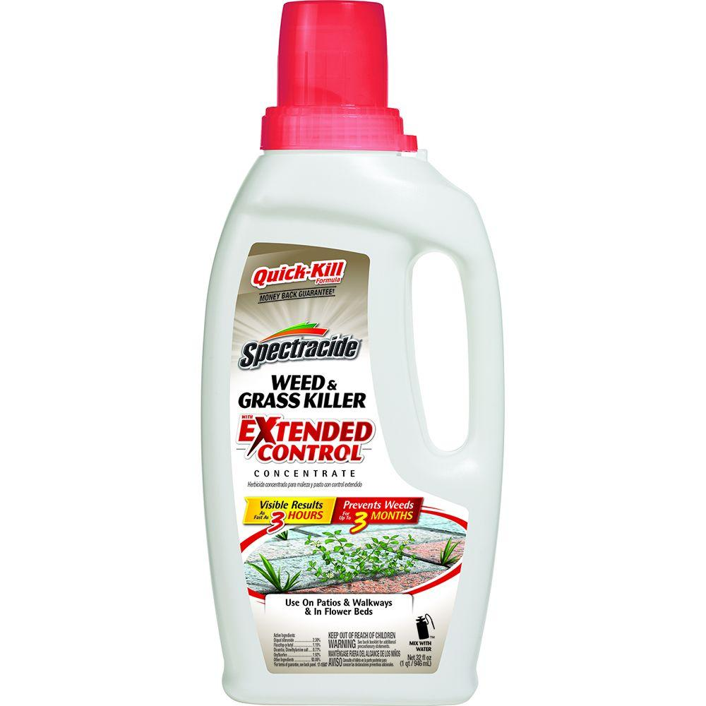 Spectracide 32 oz. Weed and Grass Extended Control Concentrate-HG-96391-1 - The