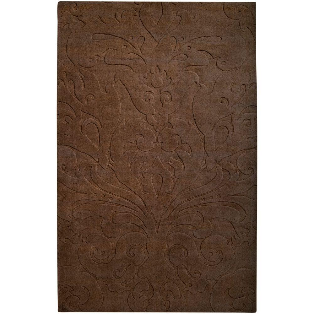 Candice Olson Chocolate 2 ft. x 3 ft. Accent Rug