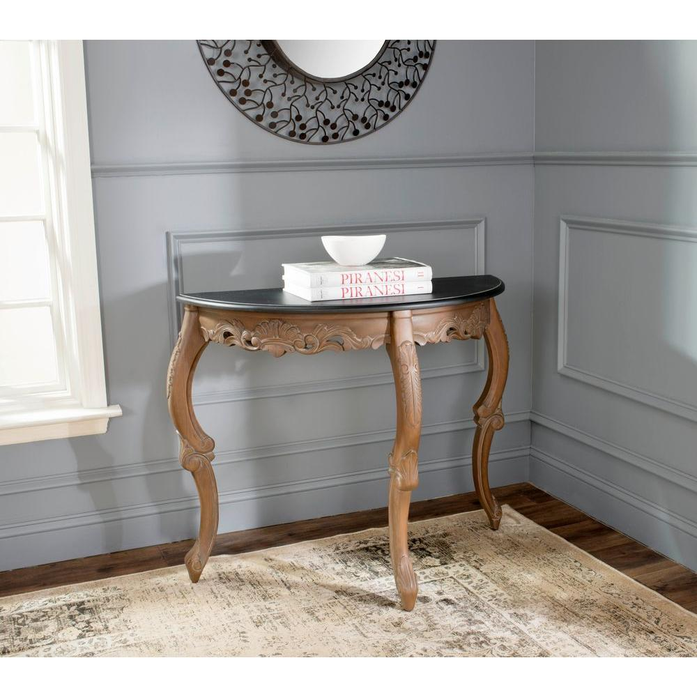 Safavieh Brown Willand Console Table-SEA5002A - The Home Depot