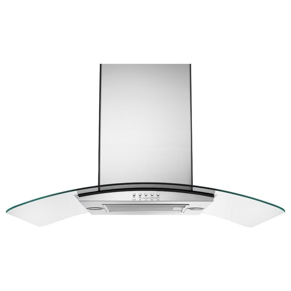 Maytag 36 in. Island Canopy Range Hood in Stainless Steel