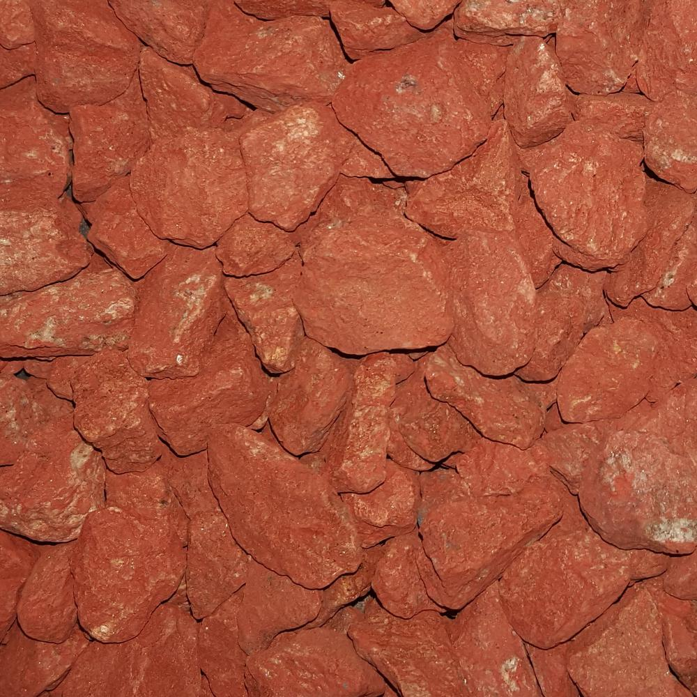 0.50 cu. ft. 40 lbs. 3/4 in. Scarlet Red Landscaping Gravel