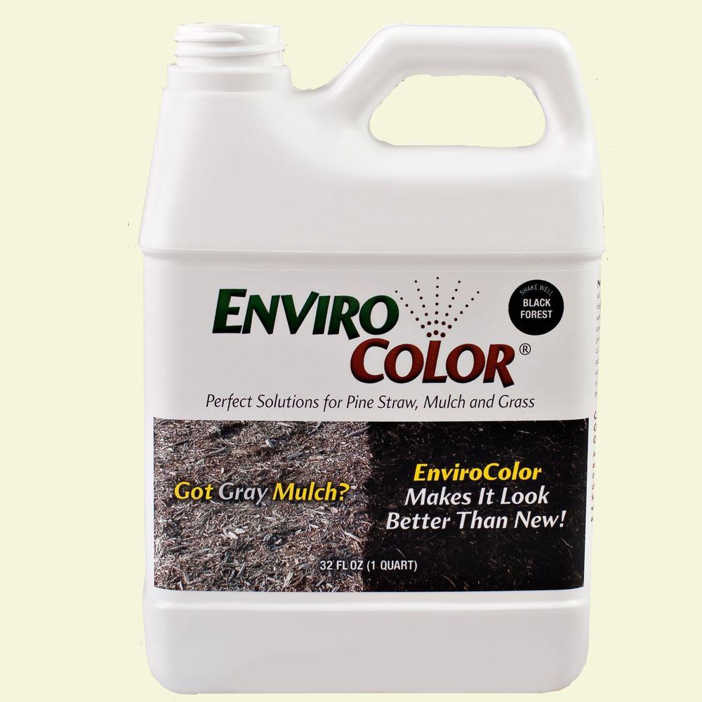 ENVIROCOLOR 2,400 sq. ft. Black Forest - Black Mulch Colorant Concentrate