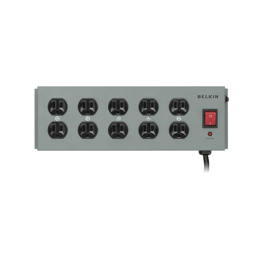 Defiant 10-Outlet Surge Protector