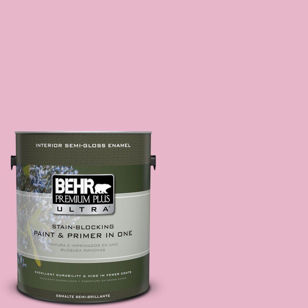 BEHR Premium Plus Ultra 1 gal. #HDC-SP16-10 Japanese Rose Garden Semi-Gloss