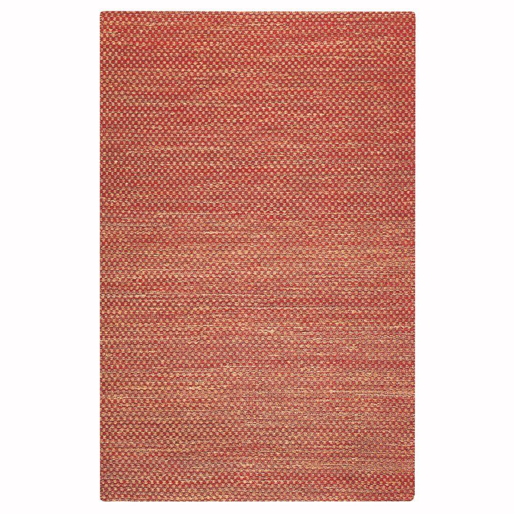 Home Decorators Collection Boxes Red 7 ft. x 9 ft. Area Rug
