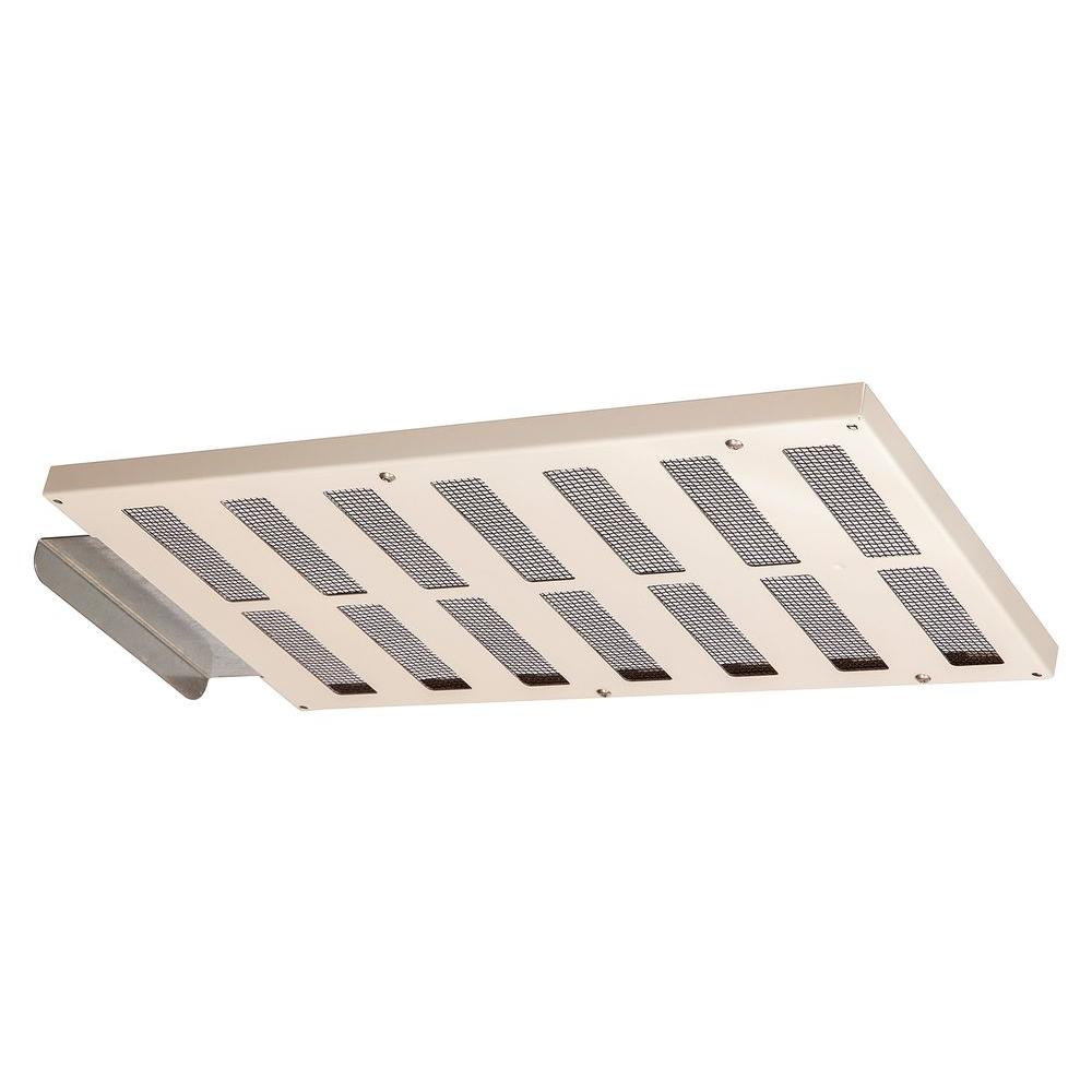 EmberShield 16 in. x 8 in. Galvanized Steel Closeable Soffit Vent