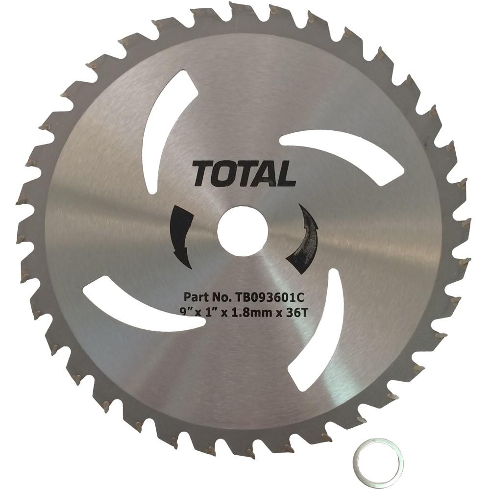 Tecomec 9 in. 36 tooth Carbide Brushcutter Blade-TB093601C - The Home