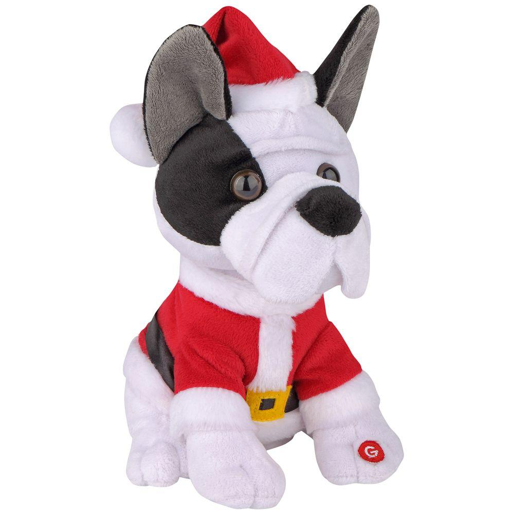9.06 in. Little Jinglers French Bulldog-38774 - The Home Depot