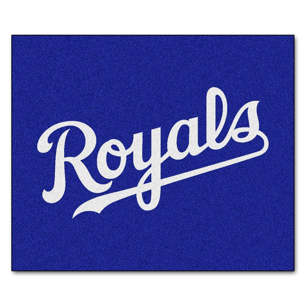 FANMATS Kansas City Royals 5 ft. x 6 ft. Tailgater Rug