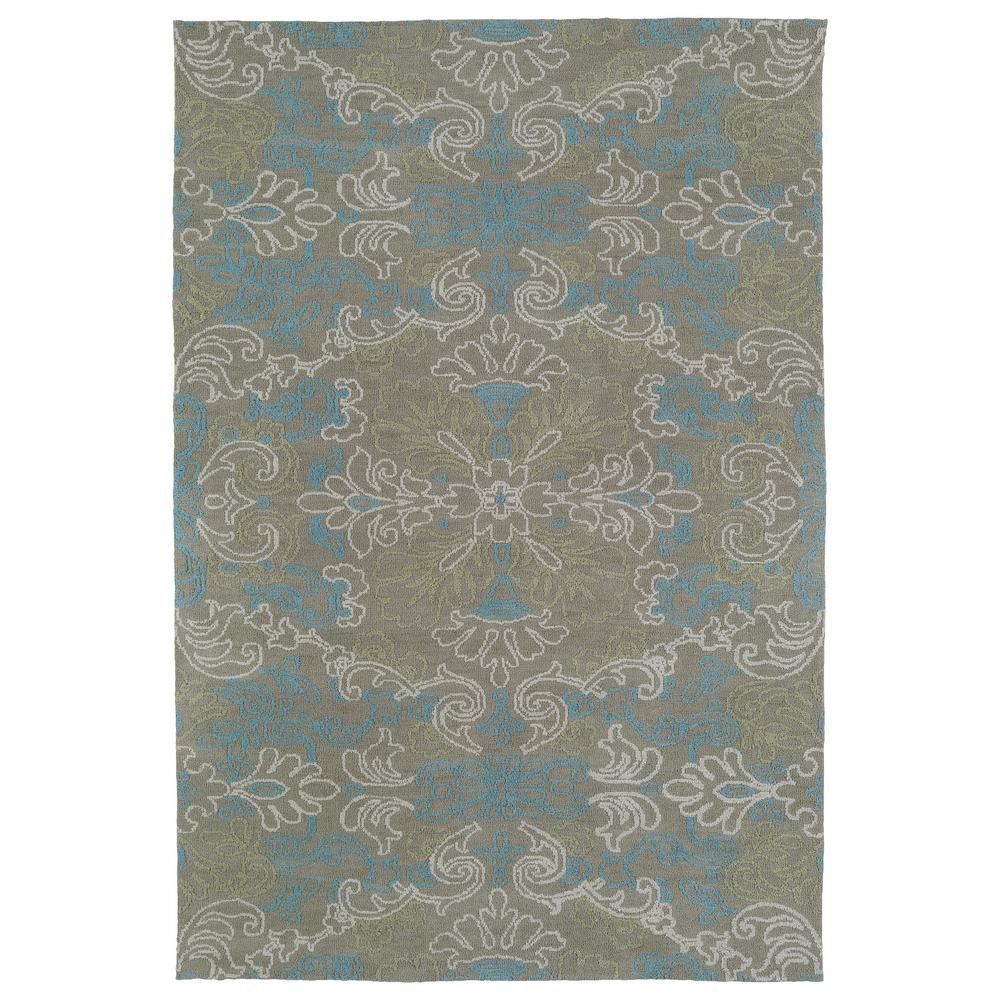 Cozy Toes Multi 9 ft. x 12 ft. Area Rug