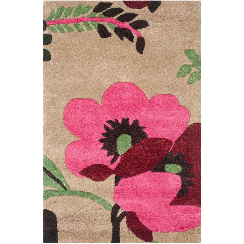 Bella Sand/Multi (Brown/Multi) 2 ft. 6 in. x 4 ft. Area Rug