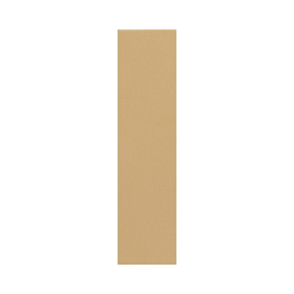 Daltile Colour Scheme Luminary Gold Solid 1 in. x 6 in. Porcelain Floor and Wall Tile-DISCONTINUED