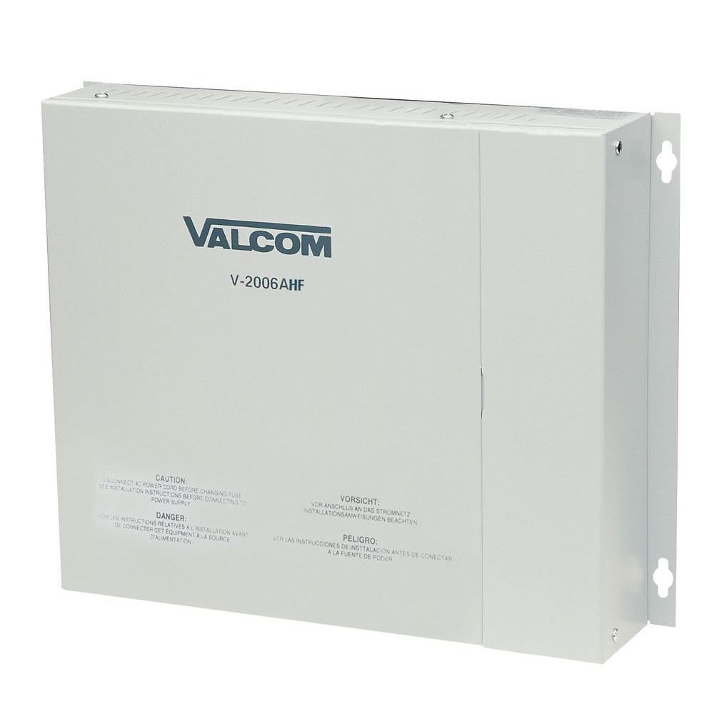 Valcom 6-Zone Talkback Page Control with Power