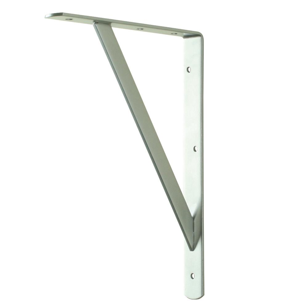 Everbilt 12 in. x 8 in. White Heavy Duty Shelf Bracket