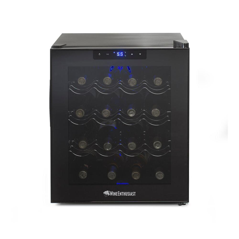 16-Bottle Touchscreen Wine Cooler