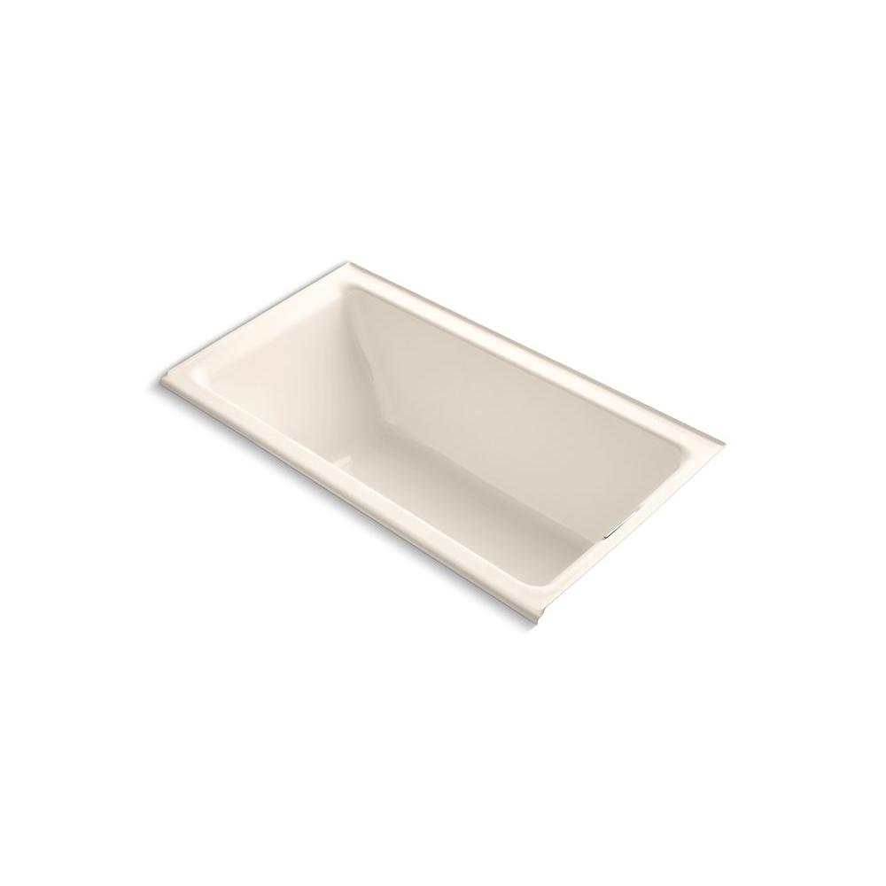 KOHLER Tea-for-Two 5.5 ft. Bathtub in Innocent Blush-DISCONTINUED