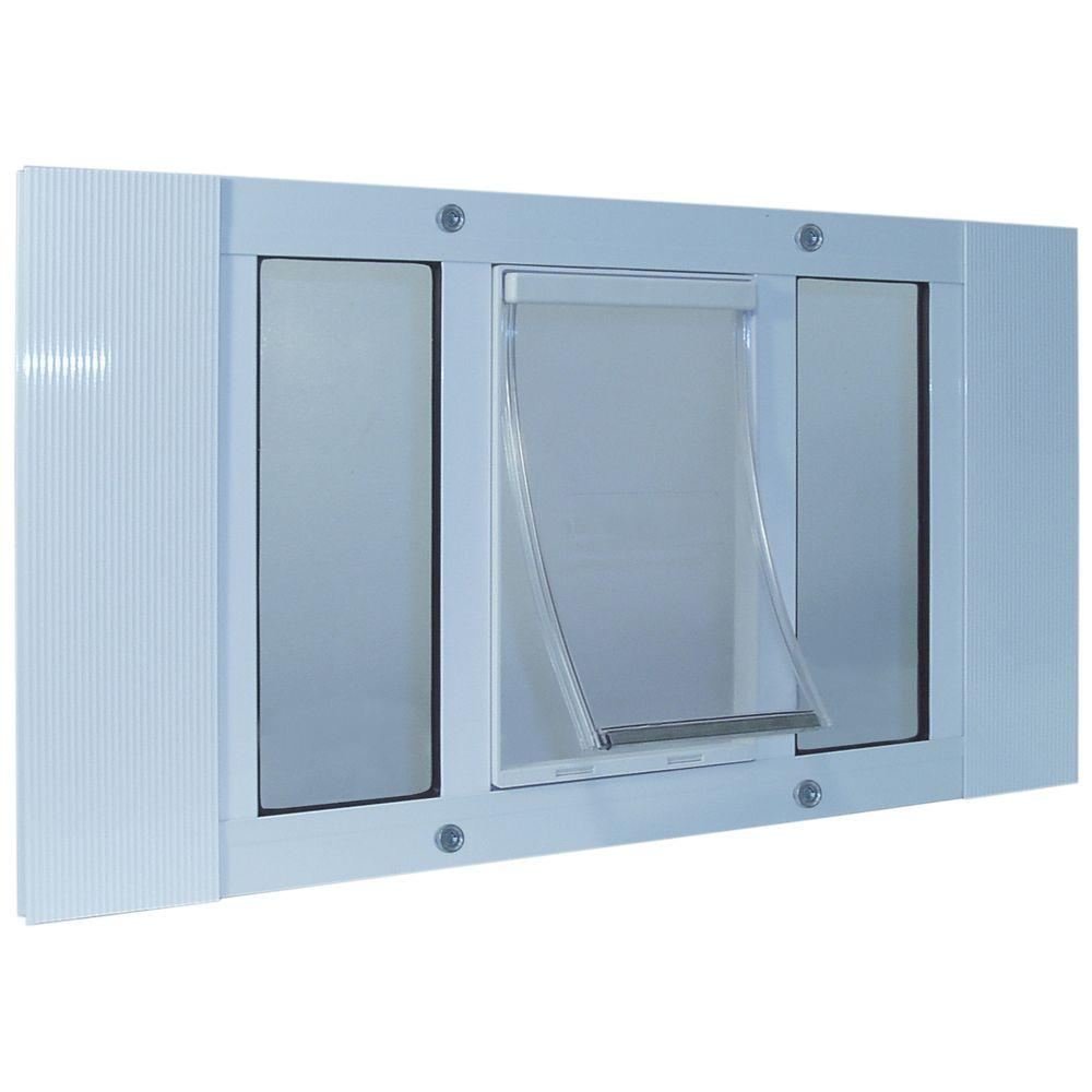 Ideal Pet 7 in. x 11.25 in. Medium Original Frame Door for Installation into 33 in. to 38 in. Wide Sash Window