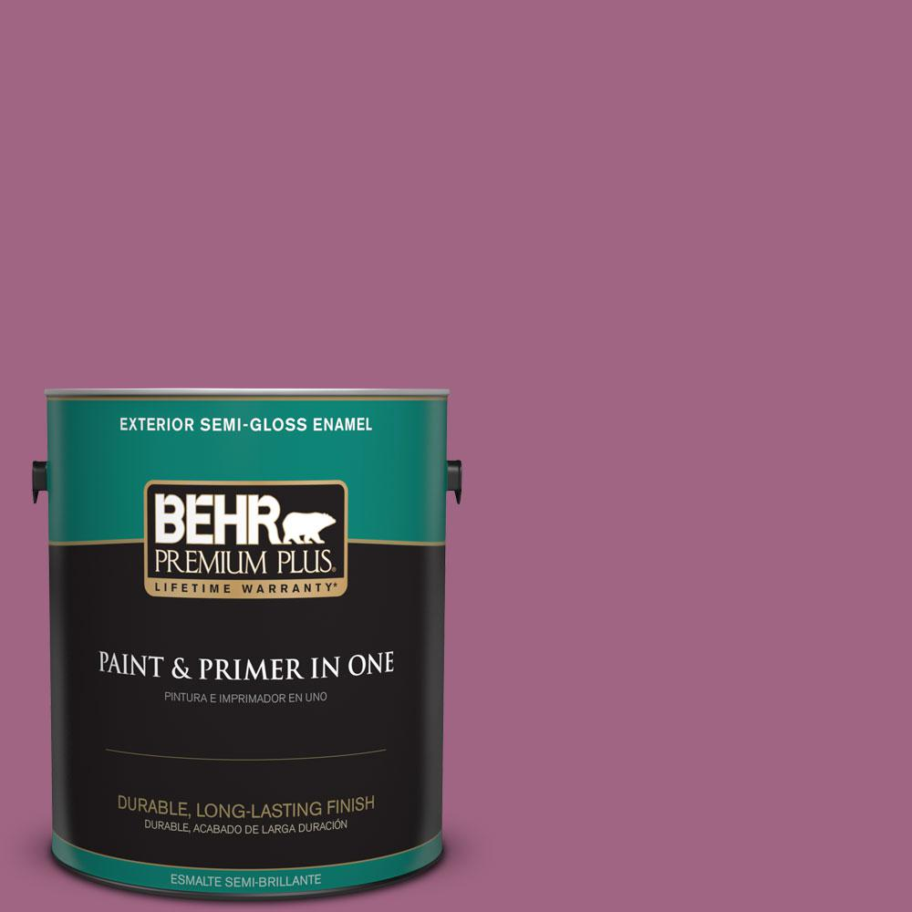 1-gal. #M120-6 Love Poem Semi-Gloss Enamel Exterior Paint