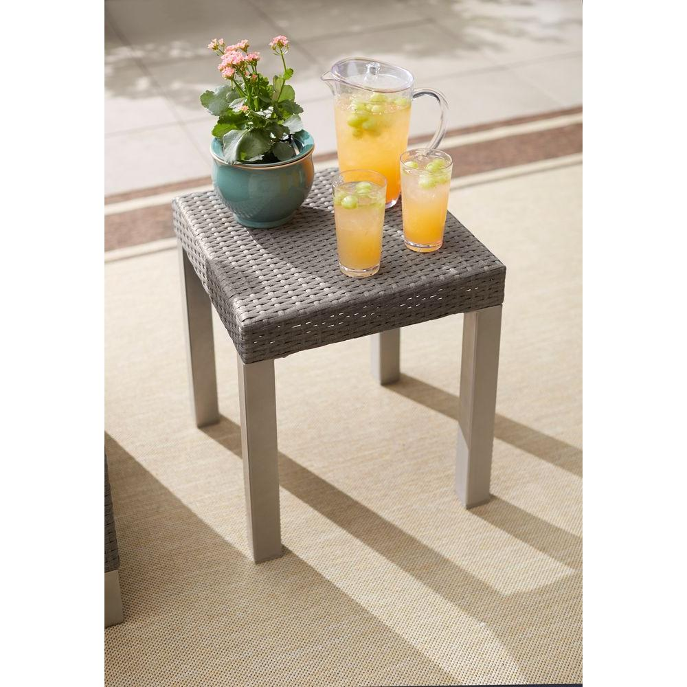 Hampton Bay Broadview Patio Side Table-FWS60493 - The Home Depot