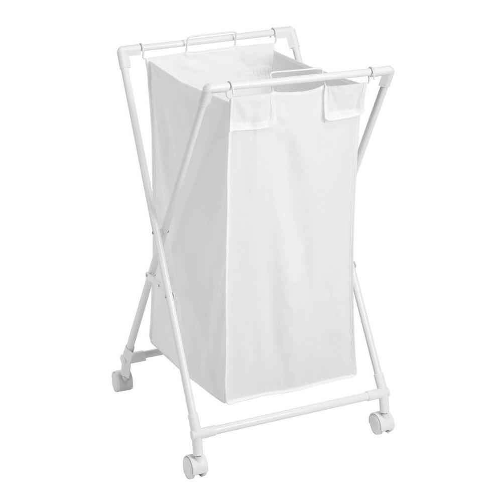 Honey-Can-Do Single Folding Hamper with Removable Bag