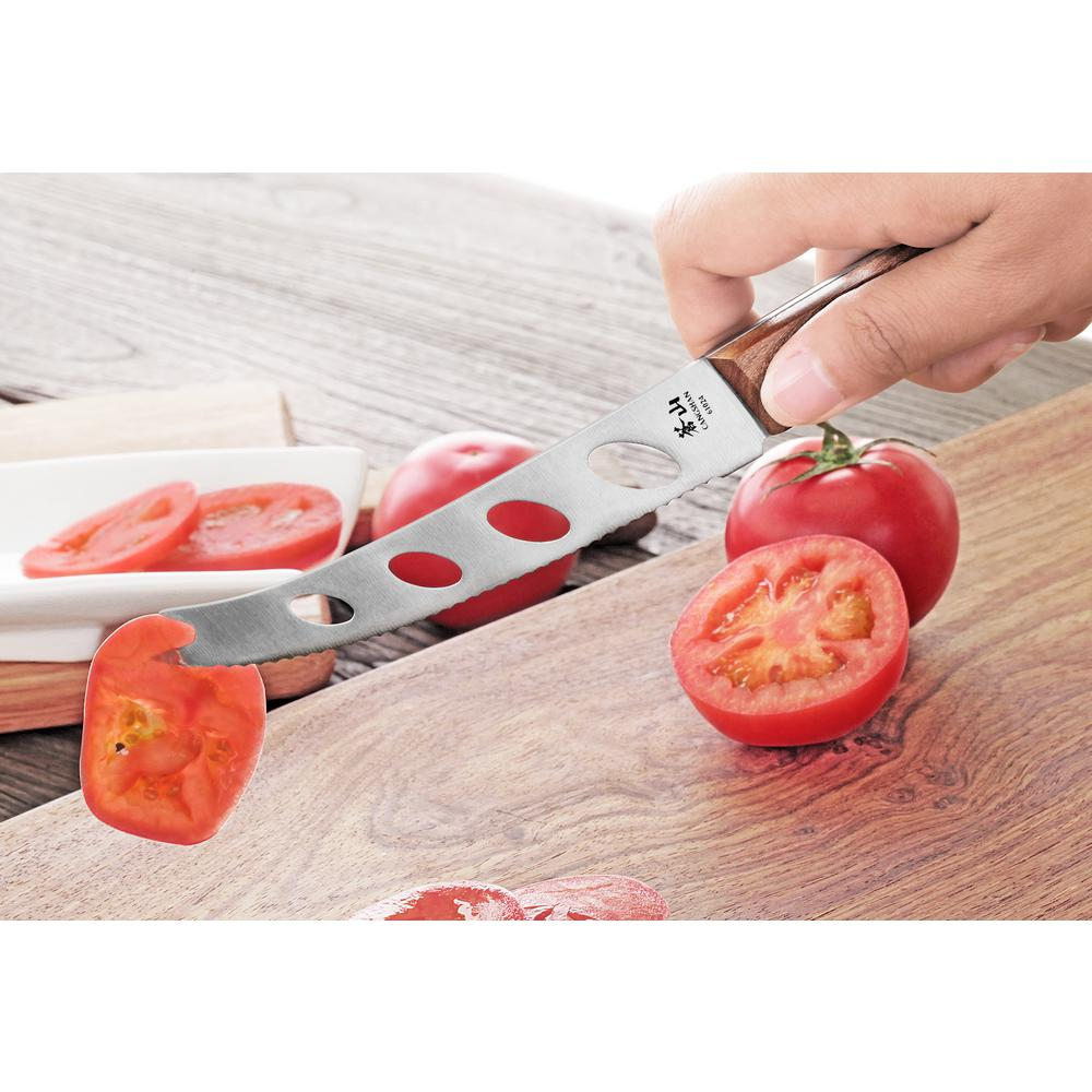 Cangshan W Series 5 in. German Steel Tomato and Cheese Knife-61024