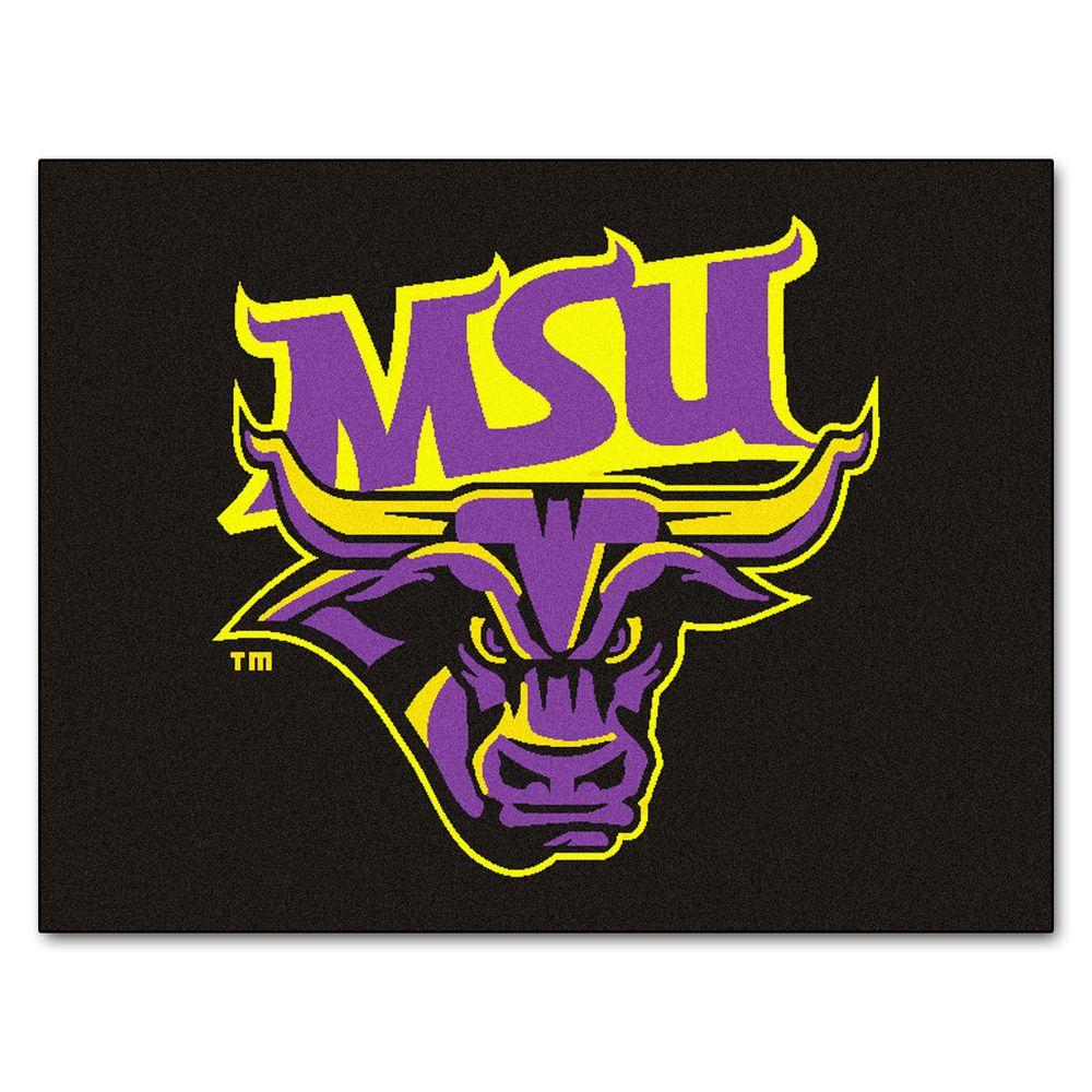 NCAA Minnesota State University Mankato Black 2 ft. 10 in. x
