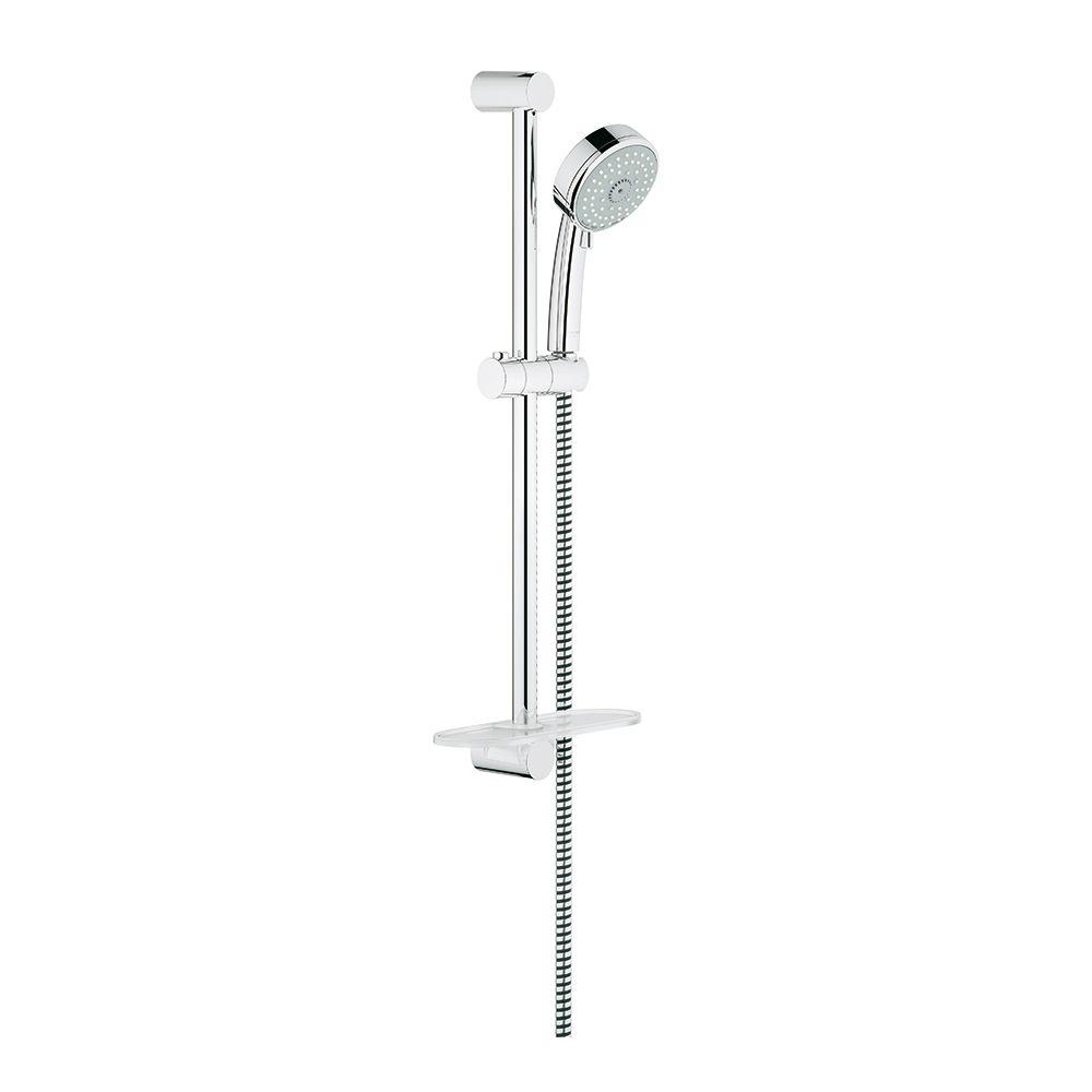 New Tempesta Cosmopolitan 4-Spray Hand Shower in StarLight Chrome with Shower