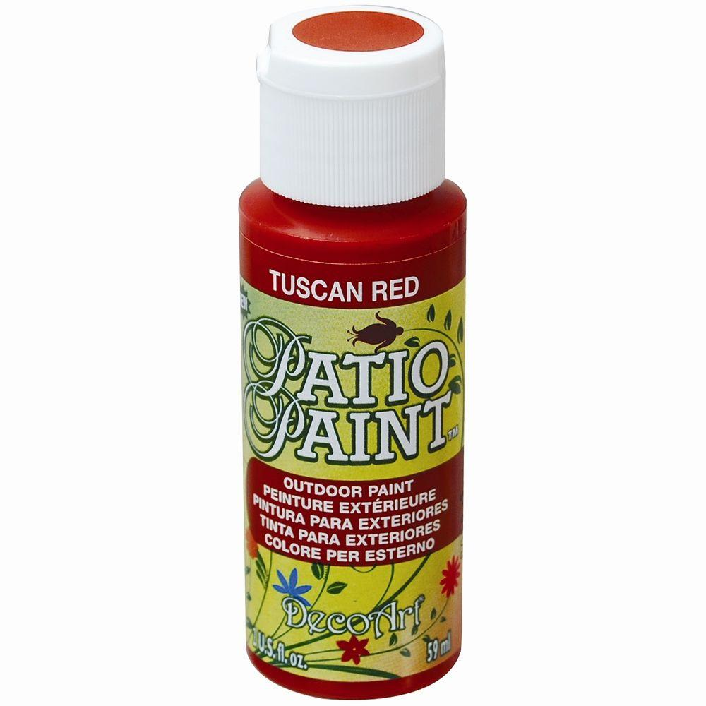 2 oz. Patio Tuscan Red Acrylic Paint