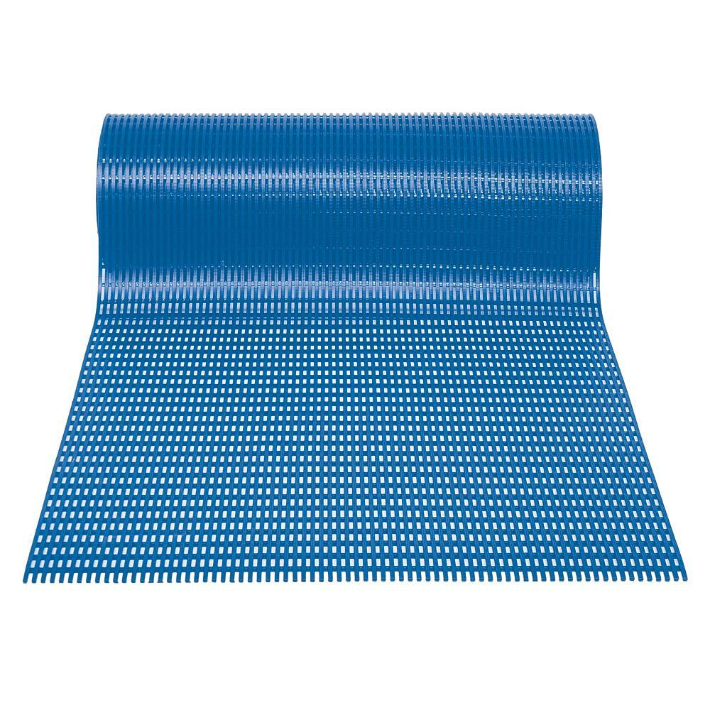 Airpath Light Blue 2 ft. x 30 ft. PVC Anti-Fatigue and