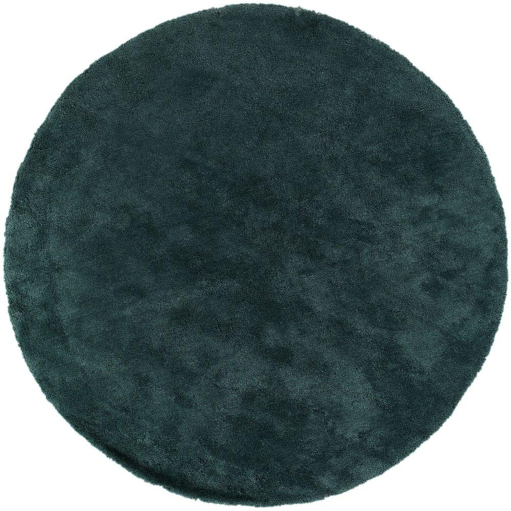 Artistic Weavers Viniani Teal 8 Ft. X 8 Ft. Round Indoor