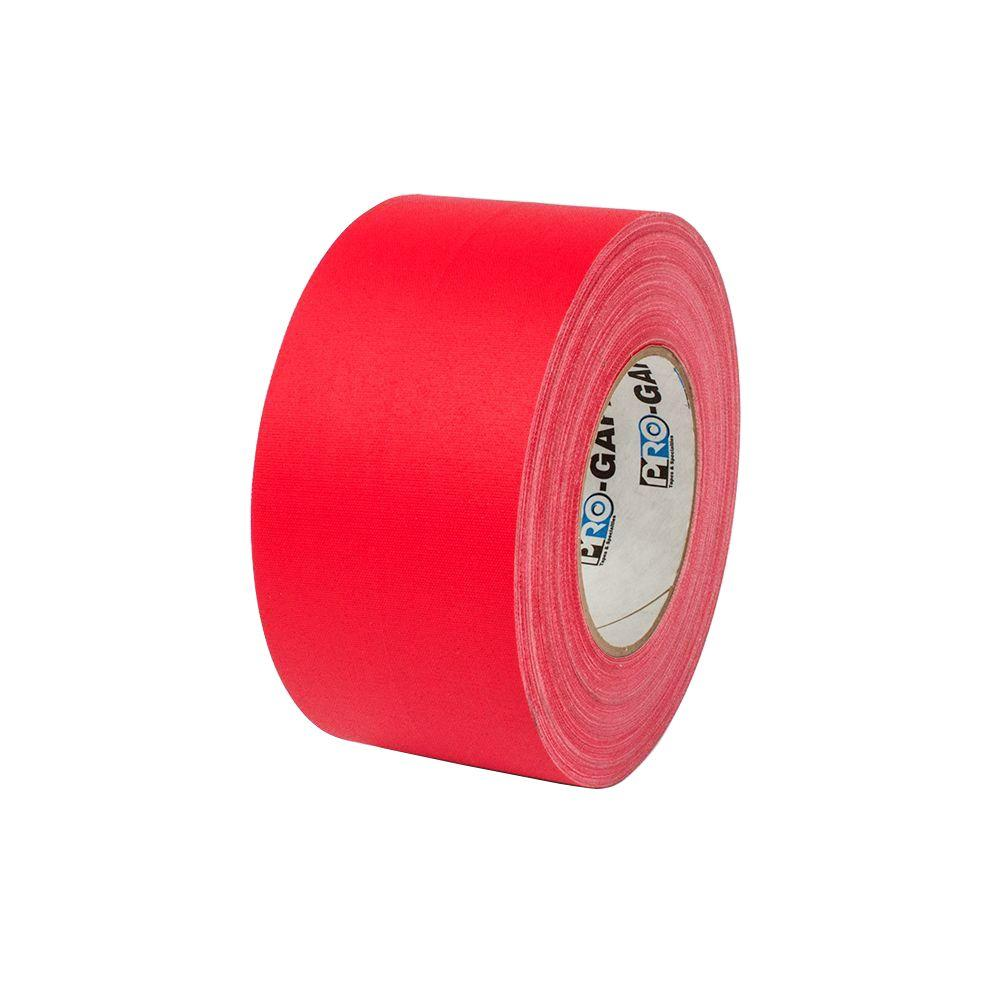 3 in. x 55 yds. Red Gaffer Industrial Vinyl Cloth Tape