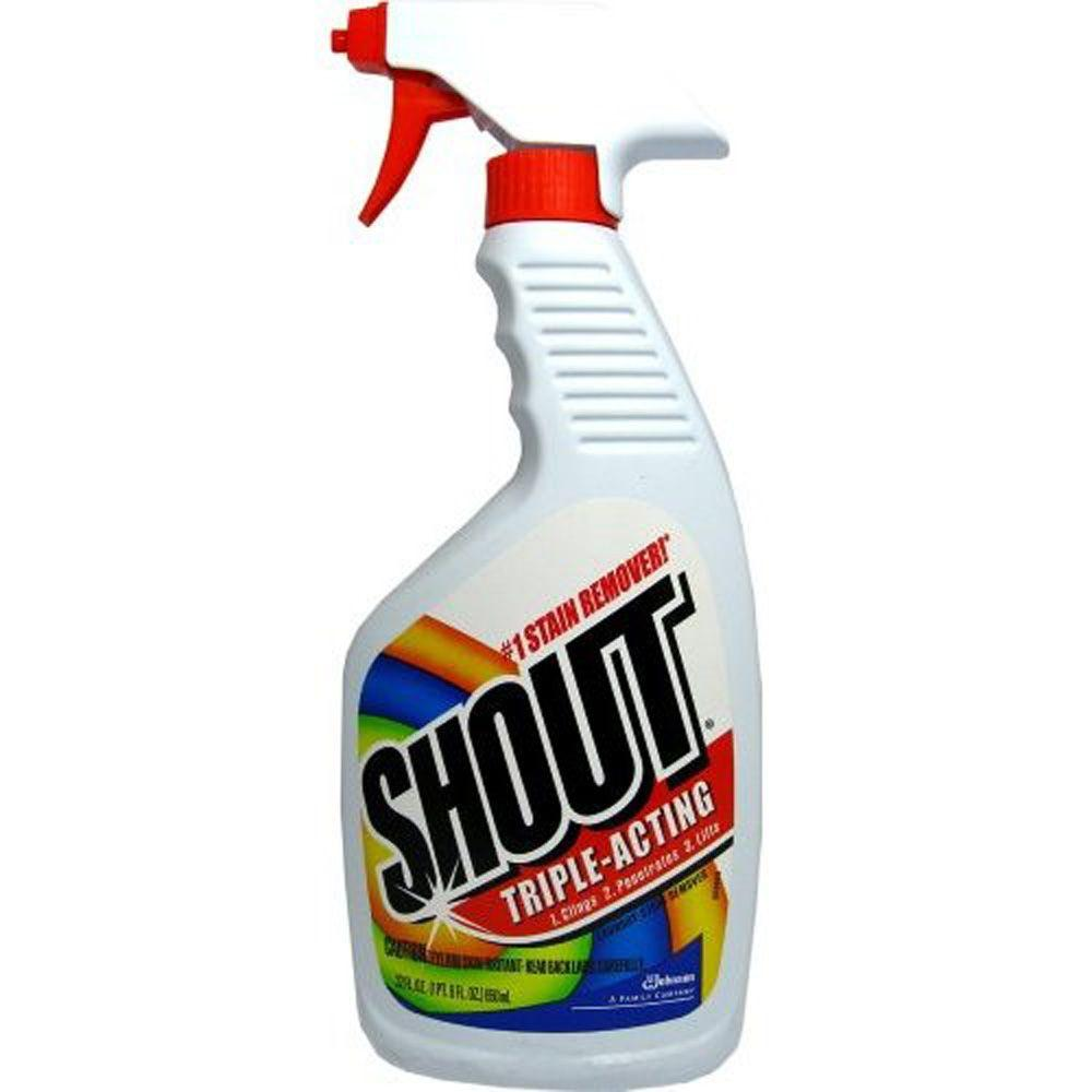 Shout 22 oz. Triple-Acting Laundry Stain Remover Trigger (12-Pack)