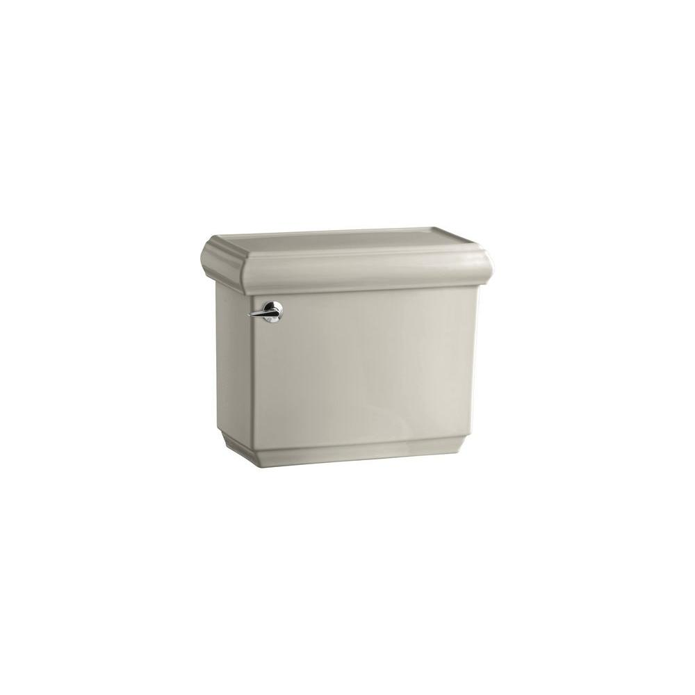 KOHLER Memoirs 1.6 GPF Toilet Tank Only with Insuliner and Classic Design in Sandbar-DISCONTINUED