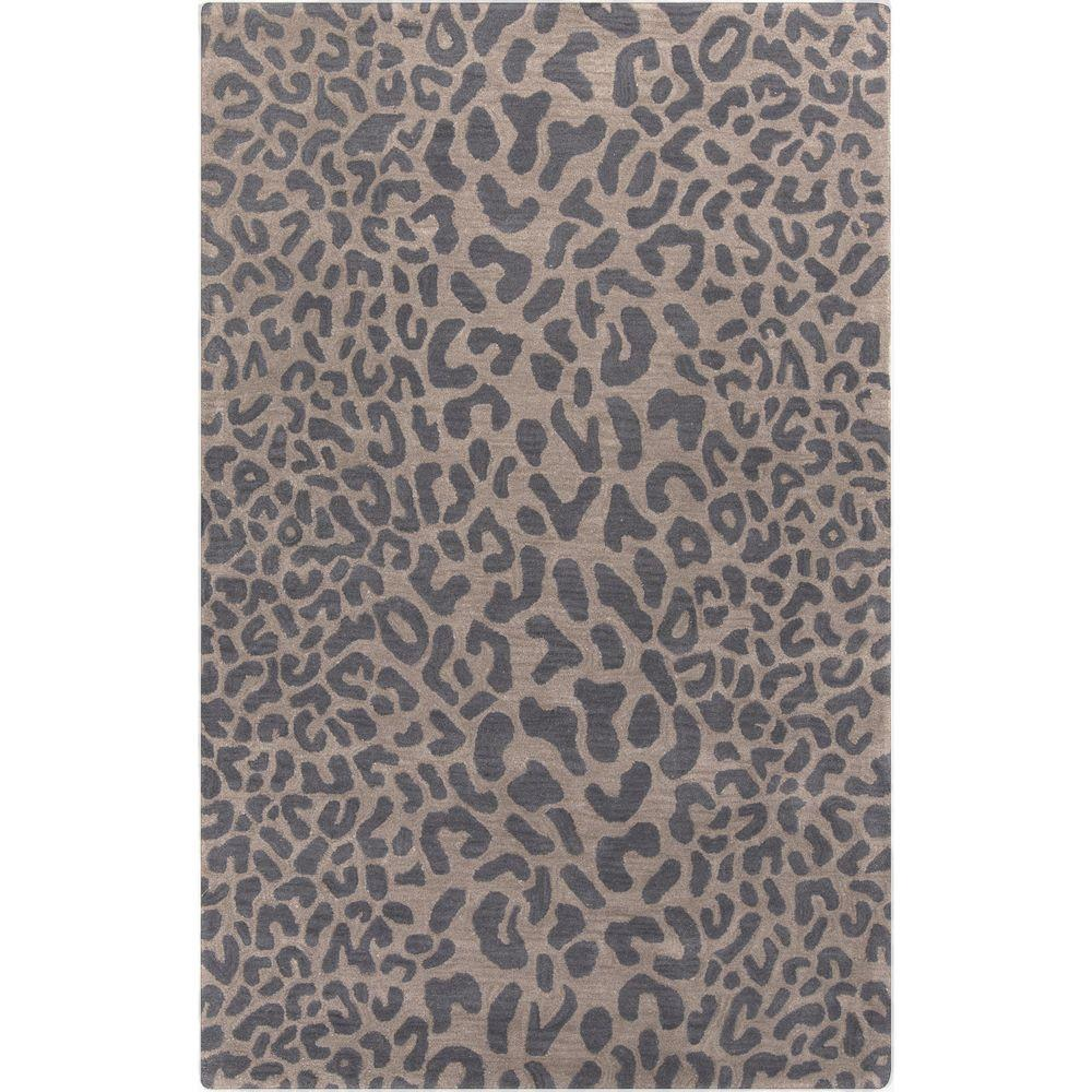 Bicauri Gray 5 ft. x 8 ft. Indoor Area Rug